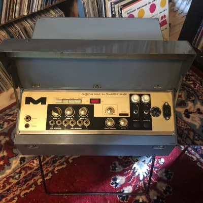 Meazzi Echomatic vintage tape echo delay and preamp / mixer for sale