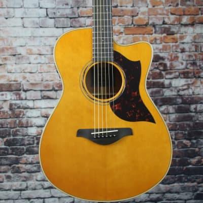 Yamaha AC3M Acoustic-Electric Guitar | Vintage Natural