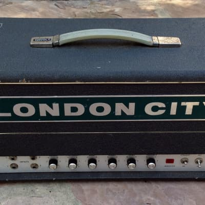 VINTAGE 1971 LONDON CITY DEA 100 WATT MK IV