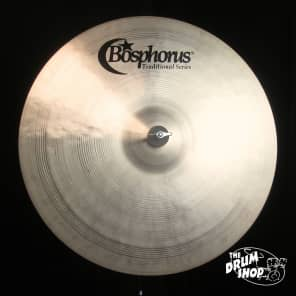 "Bosphorus 20"" Traditional Series Medium Ride Cymbal"
