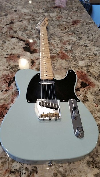 fender custom shop 51 nocaster sonic blue reissue nos tele telecaster