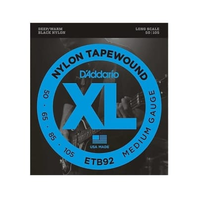 NEW D'Addario ETB92 Tapewound Bass Strings - Medium - .105-.050