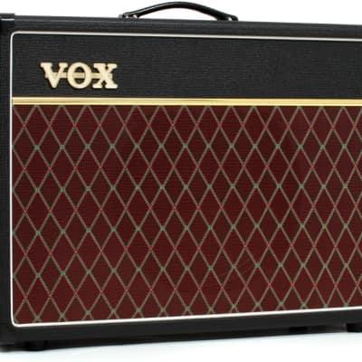 """Vox AC15C1 15 Watts 1x12"""" Celestion G12M Greenback Speaker Tube Combo Amp - Black"""