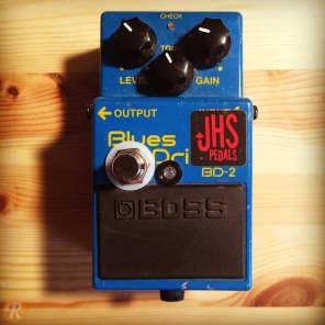 "JHS Boss BD-2 Blues Driver w/ ""Blu-Drive"" Mod"