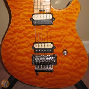 Peavey EVH Wolfgang Special Amber Quilt