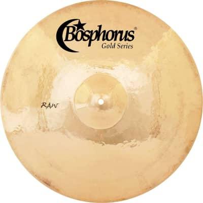 "Bosphorus 13"" Gold Raw Series China Cymbal"