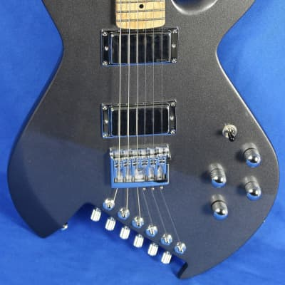 Gimenez Sinner Metallic Silver Electric Guitar EMG Schaller w/OHSC *First Run* for sale