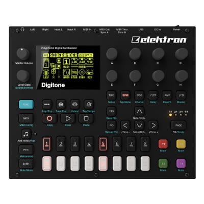 Elektron Digitone 8-Voice Digital Synthesizer