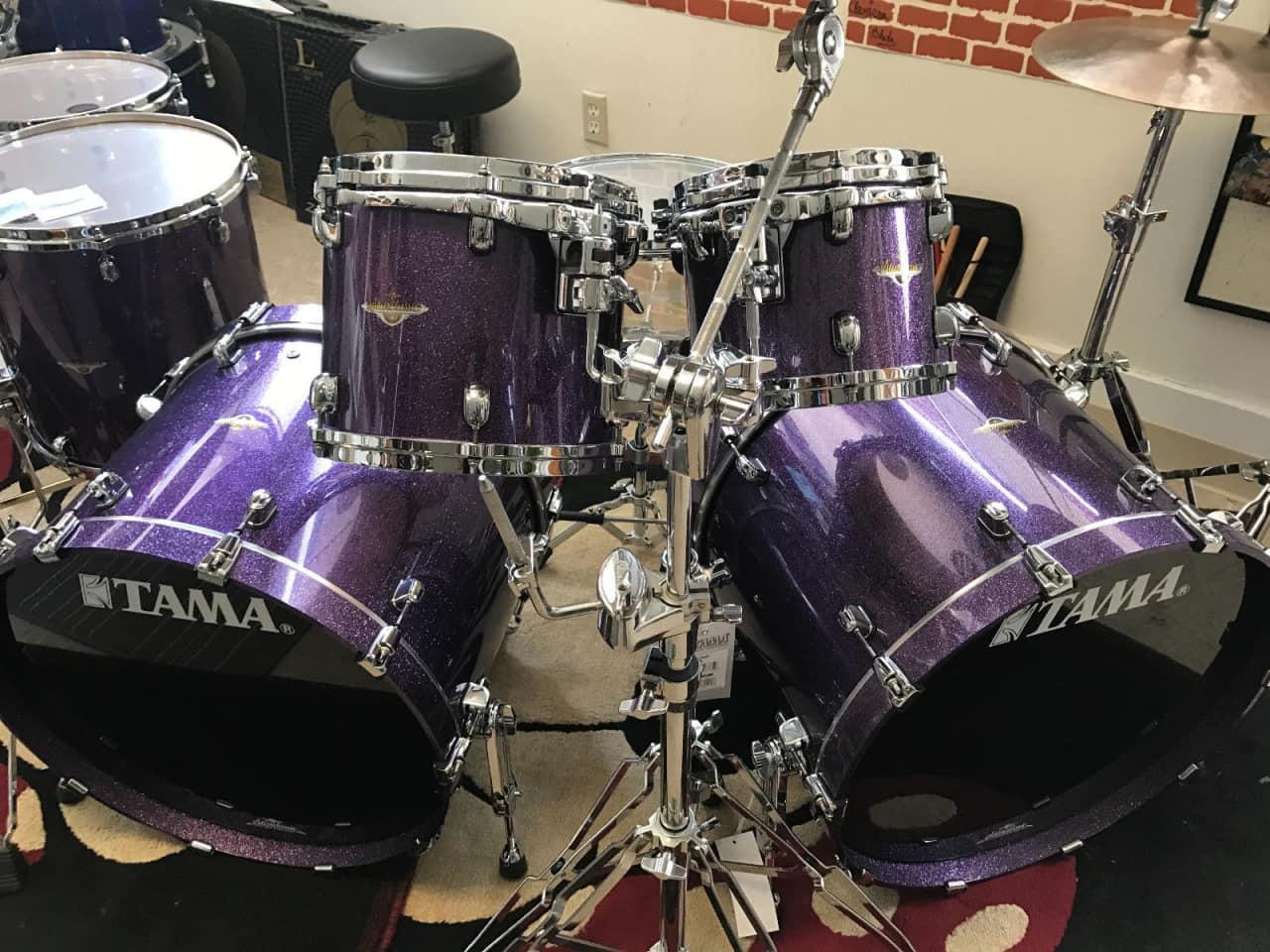 tama lars ulrich limited edition rare starclassic drum set reverb. Black Bedroom Furniture Sets. Home Design Ideas
