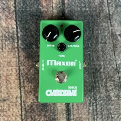 Used Maxon OD-808 Overdrive Pedal