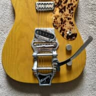 Philippe Dubreuille Telecaster 2008 Natural for sale