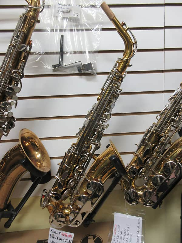 Used Conn 20M Alto Saxophone | Springfield Music