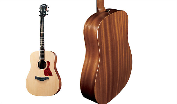 taylor big baby bbt acoustic guitar includes original deluxe reverb. Black Bedroom Furniture Sets. Home Design Ideas