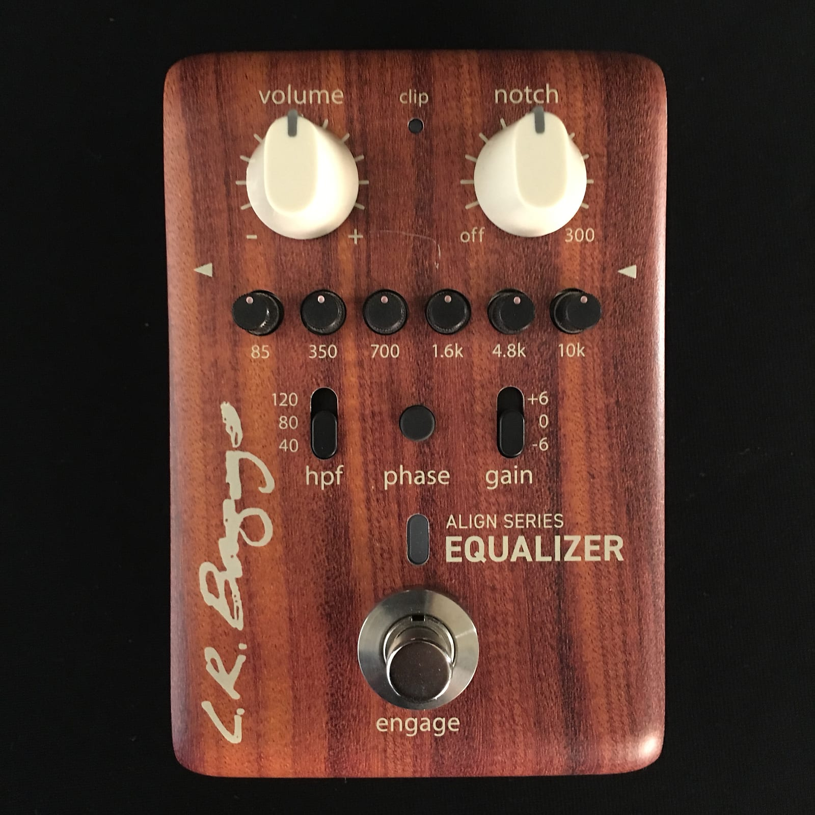 LR Baggs Align Equalizer Acoustic EQ Pedal - B Stock - Authorized Dealer -  Free Shipping!