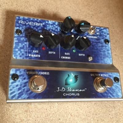 Effect pedal Rivera 3D Shaman Chorus / Vibrato for sale