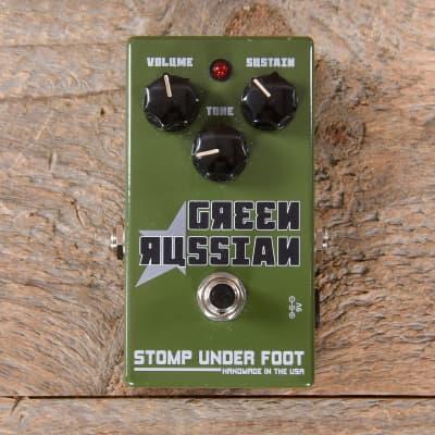 Stomp Under Foot Green Russian