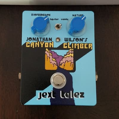 Jext Telez Canyon Climber Limited Edition Blue B-Stock 2019 Minor Paint Flaws