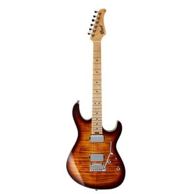 Cort G290 FAT Antique Violin Burst Finish Electric Guitar