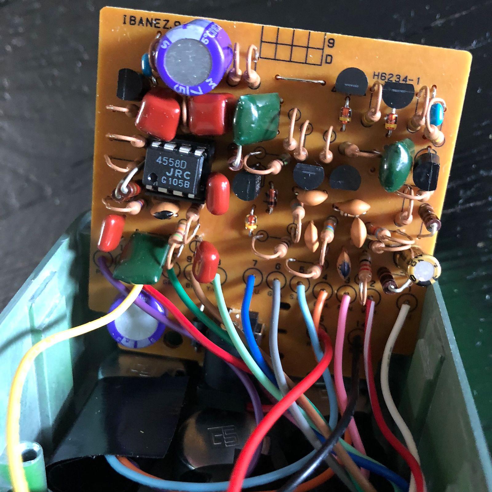 Ibanez TS9 Analogman Silver Mod, KWS