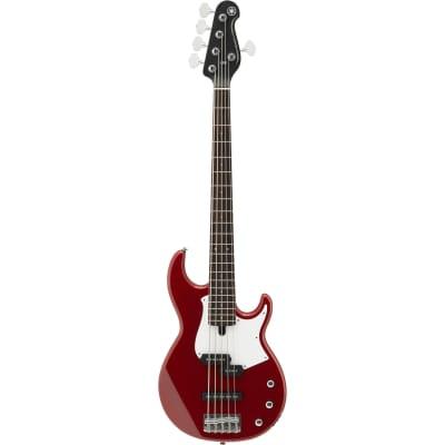 Yamaha BB235 5 String Raspberry Red Gloss Finish Electric Bass