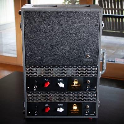 """2020 Monkeymatic Black Butte Stereo #5,6 - 2-watt all tube """"desktop"""" recording amplifiers"""