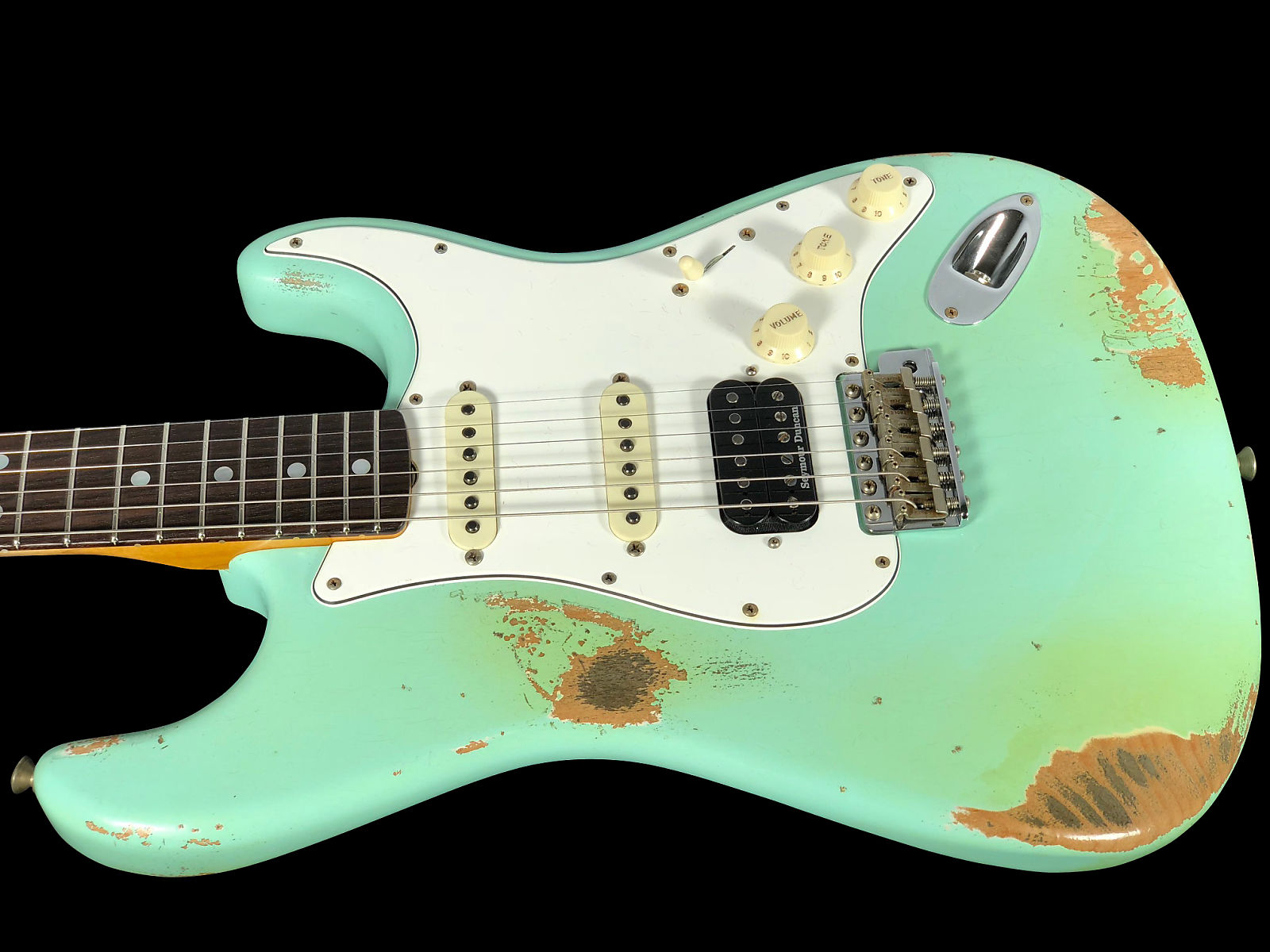 2018 Fender Stratocaster 1969 Custom Shop Heavy Relic 69 HSS Strat ...