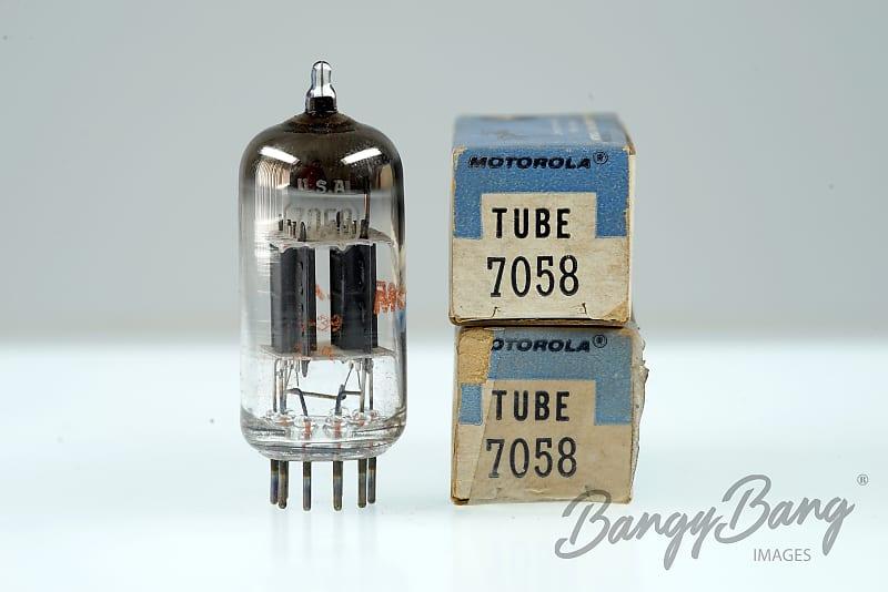 2 Vintage Motorola 7058 High-mu twin triode Audio Amp  Valve - BangyBang  Tubes