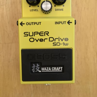 Boss SD-1W Super Overdrive Waza Craft