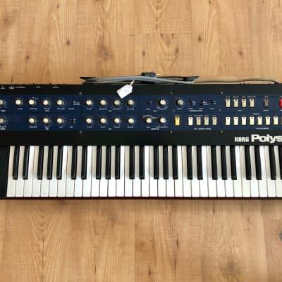 Korg PolySix Synthesizer (Fully PRO Serviced  / MIDI / Warranty)