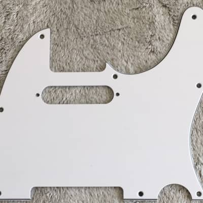 New Guitar Pickguard For Tele 1962 Stratocaster Pickup,3 Ply White