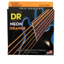DR Strings Guitar Strings Electric Neon Orange 11-50 Heavy