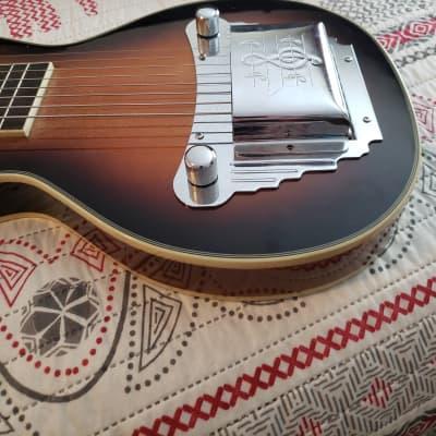Gold Tone LS-8 Hawaiian-Style 8-String Lap Steel Guitar Tobacco Brown