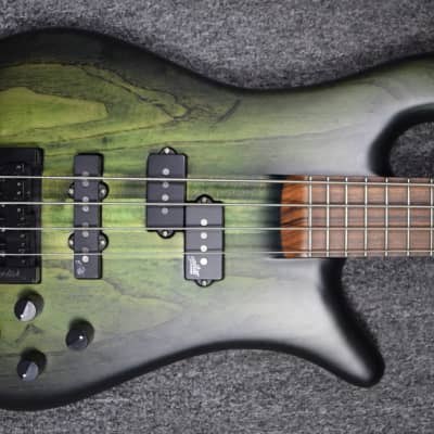 Spector Forte 4, Haunted Moss with Pau Ferro Fingerboard *On Order ETA = September 2020