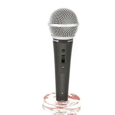 Shure SM48S-LC Dynamic Microphone (Power Switch)