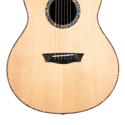 Washburn Elegante S24S Bella Tono Studio Acoustic Guitar Gloss Natural BTS24S-D-U