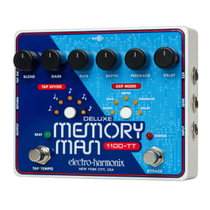 Electro-Harmonix Deluxe Memory Man with Tap Tempo 1100 (Reissue) - Customer Return