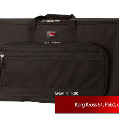 Gator Keyboard Case for Korg Kross 61, PS60, RK-100S