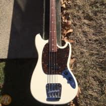 Fender Mustang Bass 2012 Vintage White image