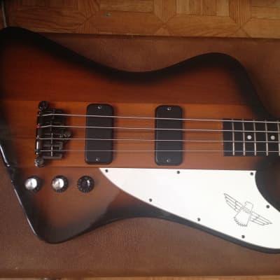 90's 1996 Gibson Thunderbird IV Bass  USA Sunburst with original hardcase for sale