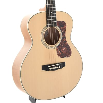 Guild Jumbo Junior Flamed Maple Acoustic Guitar and Gigbag for sale