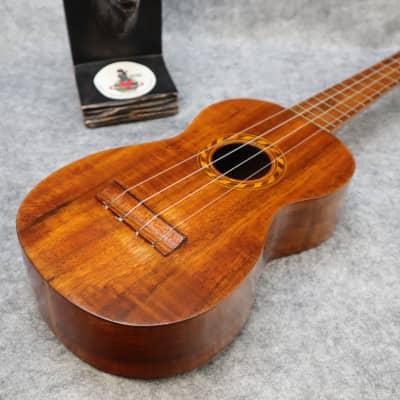 1920s vintage aloha hawaiian koa ukulele nice condition for sale
