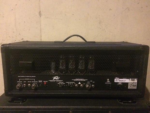 excellent condition peavey triple x guitar amp head for sale reverb. Black Bedroom Furniture Sets. Home Design Ideas