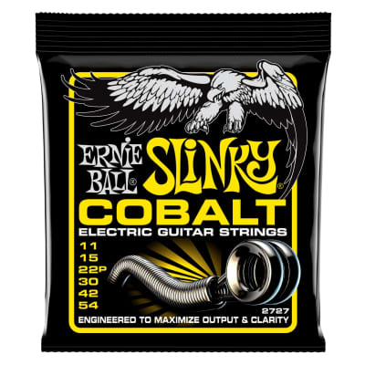 Ernie Ball Electric Guitar Cobalt Beefy Slinky 11-54