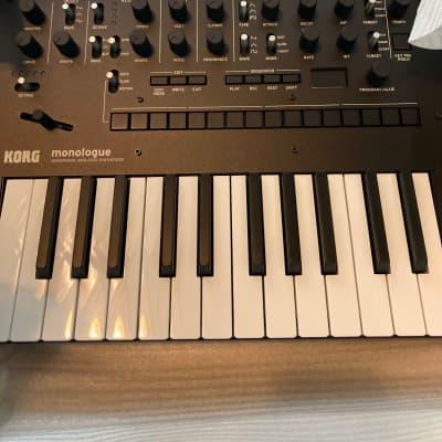 Korg Monologue Monophonic Analog Synthesizer 2020 Black