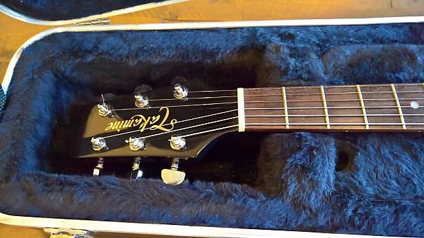 takamine ef361ec acoustic electric guitar trans black made in reverb. Black Bedroom Furniture Sets. Home Design Ideas