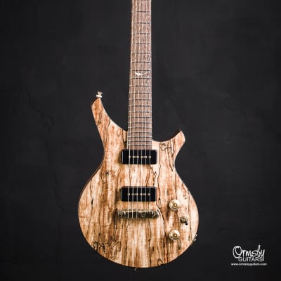 Ormsby Damascus CustomShop 2017 Natural Spalted Maple for sale
