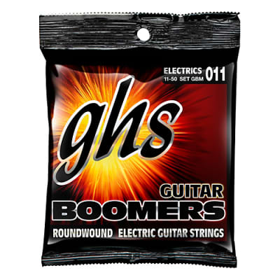 GHS  GBTM Roundwound Electric Strings 11/50