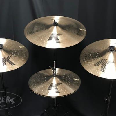 Zildjian K Custom Dark 5 Piece Cymbal Set