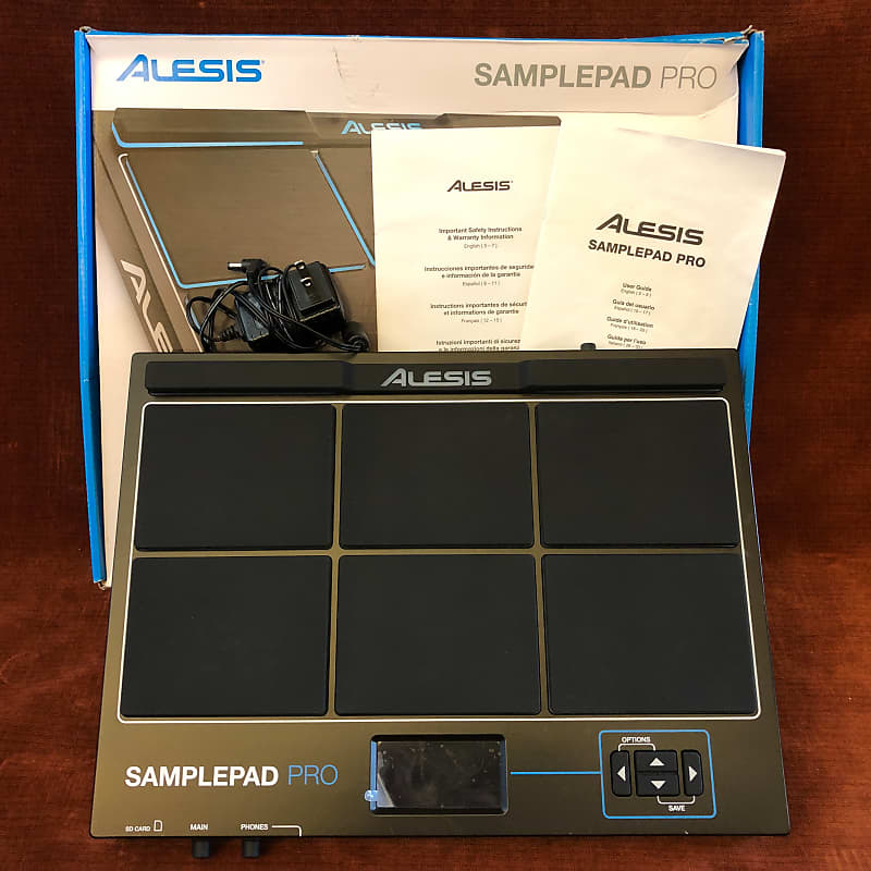 Alesis SamplePad Pro 8-Pad Percussion and Sample-Triggering Instrument w/ Box
