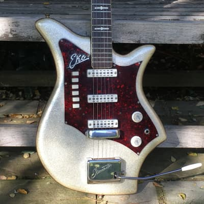 EKO 500 V3 Ekomaster 1963 Silver Sparkle for sale